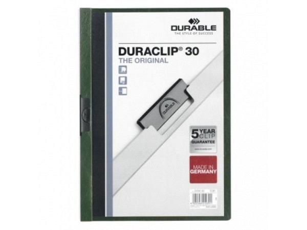 Klemmhefter Durable Duraclip 3mm petrol, für 1-30 Blatt