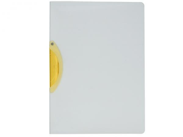 Klemmhefter Kolma Easy Plus A4 transparent Klemme gelb
