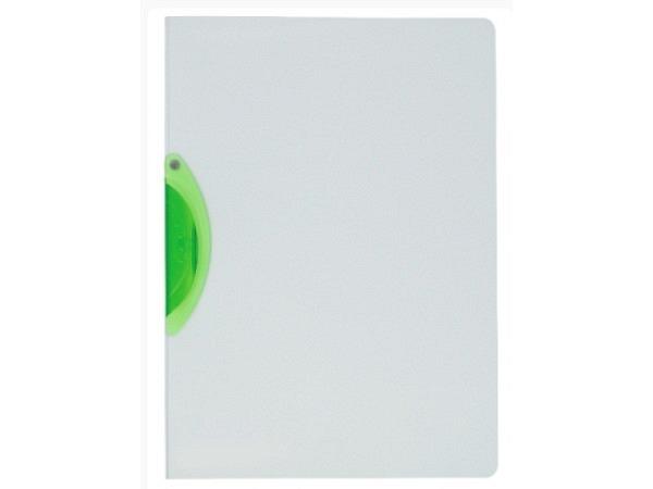 Klemmhefter Kolma Easy Plus A4 transparent Klemme grün