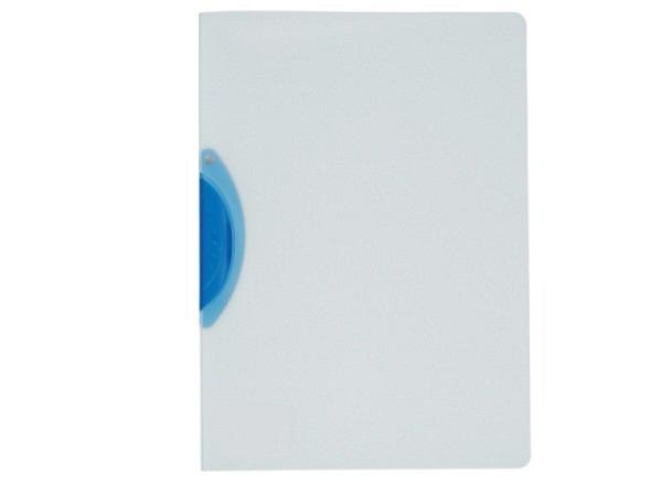 Klemmhefter Kolma Easy Plus A4 transparent Klemme blau