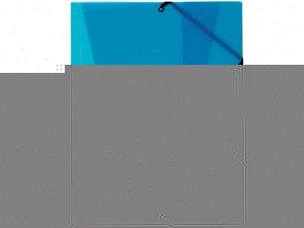 Pendenzenmappe Kolma Penda Easy A4 transparent blau