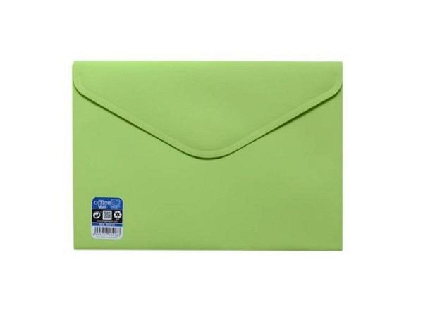 Pendenzenmappe Office Box A5 mit Klettverschluss lindgrün opak