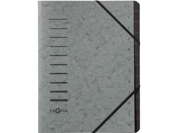 Fächermappe Grafoplas Project Koffer schwarz mit Traggriff
