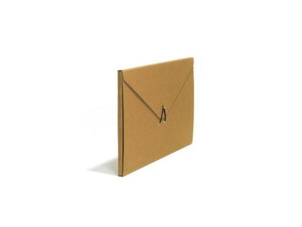 Pendenzenmappe Schwartz Kraftpapier A4 in Couvertform