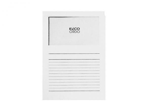 Ordnungsmappe Elco Ordo Classico weiss 100Stk