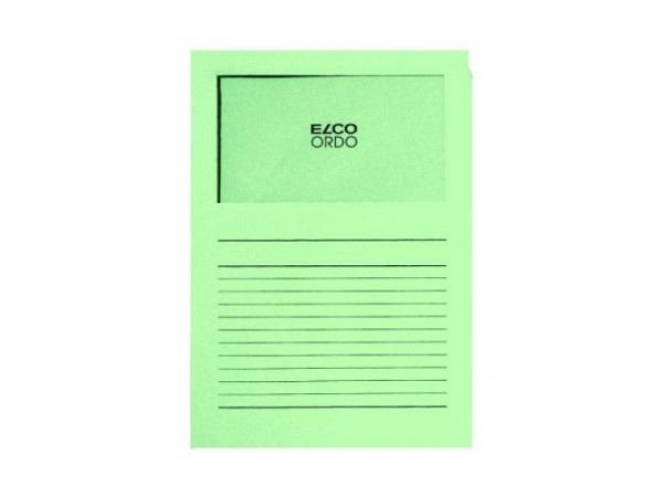 Ordnungsmappe Elco Ordo Classico grün 100Stk