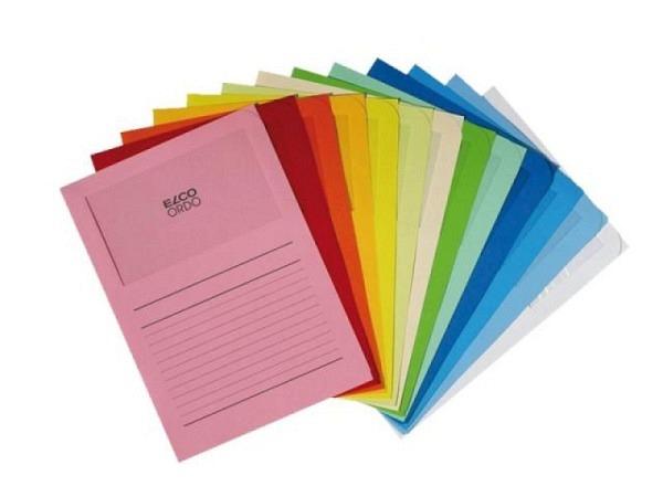 Ordnungsmappe Elco Ordo Classico farbig sortiert 10Stk.