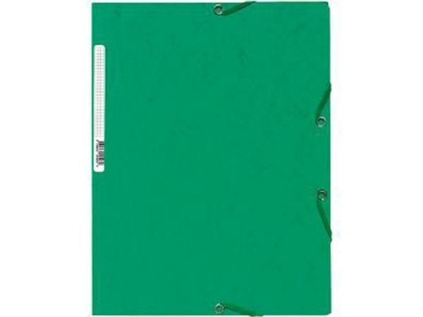 Pendenzenmappe Exacompta grün A4 3Klappen, 400g/qm