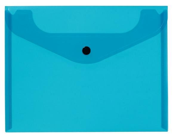 Pendenzenmappe Kolma Easy 1 Fach A5quer transparent blau