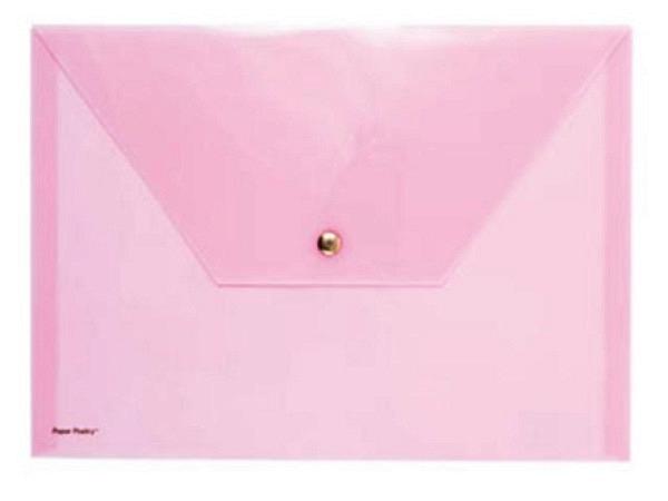 Pendenzenmappe PaperPoetry A4 opak rosa