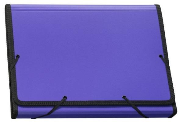 Fächermappe Kolma Daily Colours A4 violett mit 13 Fächern