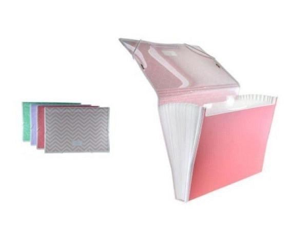Heftbox Kolma Penda Easy transparent Echse für A4-Formate