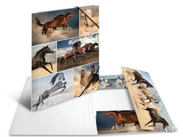 Pendenzenmappe Herma Karton A4 Pferde