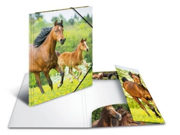 Pendenzenmappe Herma Kunststoff A4 Pferde
