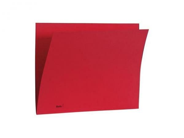 Einlagemappe Biella Color 23/24x32cm 3 Rillen rot