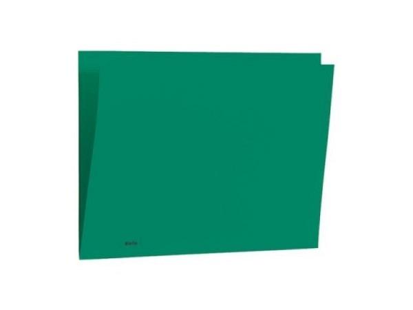 Einlagemappe Biella Color 23/24x32cm 3 Rillen grün