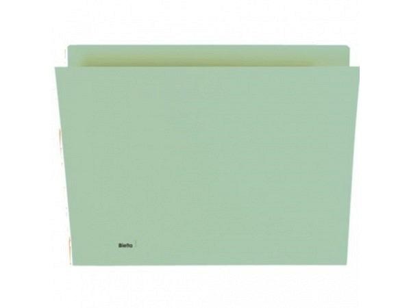 Vertikalmappe Biella 320g/qm 24/25,5x32cm grün