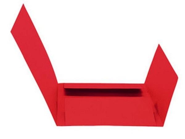 Einlagemappe Biella simpel 240g/qm 23/24x31cm rosa 1Stk.