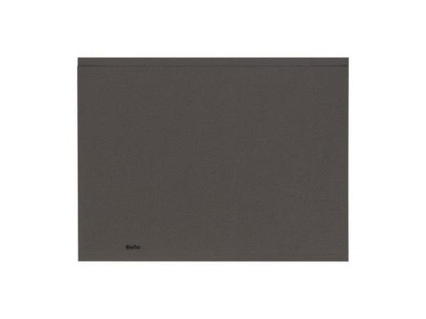 Einlagemappe Biella Recycolor 270g/qm 23,3/24,3x32cm dunkelgrau