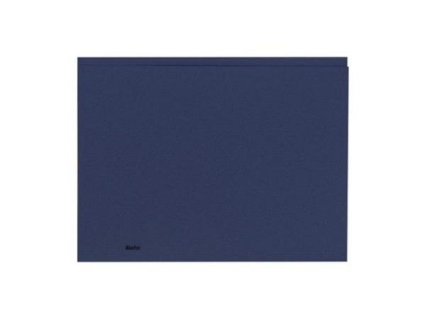 Einlagemappe Biella Recycolor 270g/qm 23,3/24,3x32cm blau