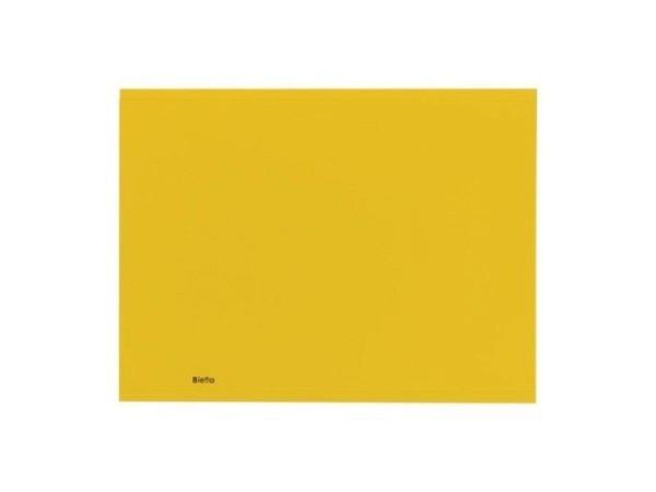 Einlagemappe Biella Recycolor 270g/qm 23,3/24,3x32cm gelb