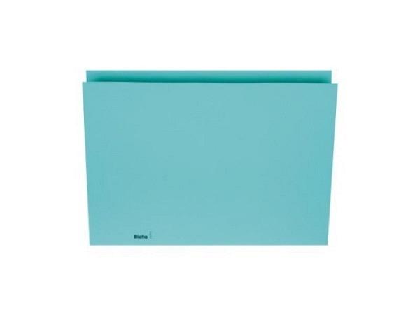 Vertikalmappe Biella 200g/qm 22,5x30,2cm blau