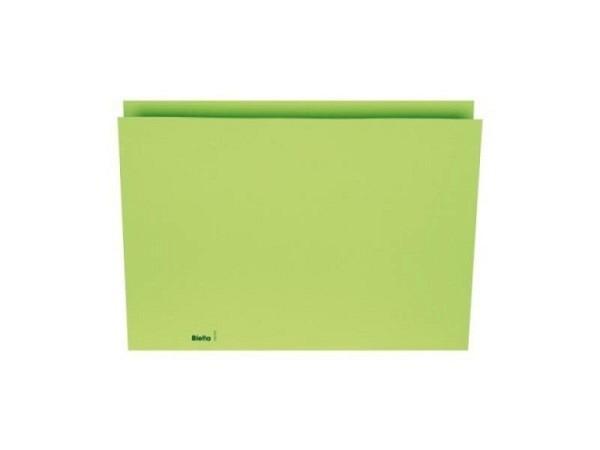 Vertikalmappe Biella 200g/qm 22,5x30,2cm grün
