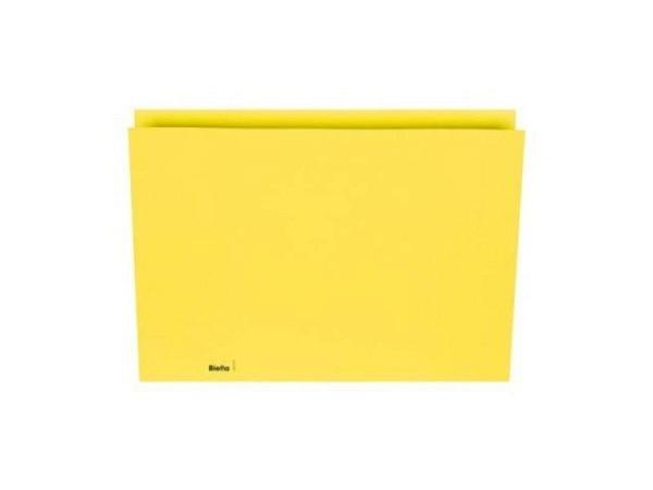 Vertikalmappe Biella 200g/qm 22,5x30,2cm gelb