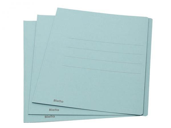 Einlagemappe Biella simpel 240g/qm 23/24x31cm blau 1Stk.