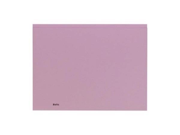 Einlagemappe Biella Recycolor 270g/qm 23,3/24,3x32cm lila