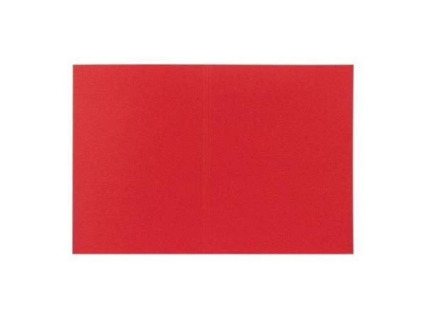 Einlagemappe Biella Recycolor 270g/qm 23,3/24,3x32cm rot