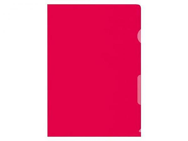 Sichtmappen Büroline hochtransparent A4 rot 10Stk.