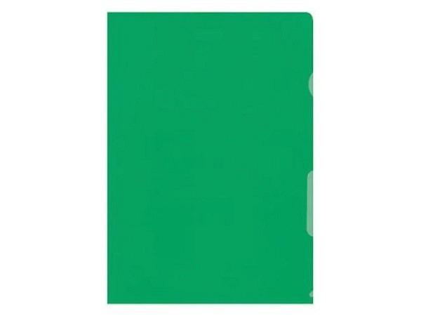 Sichtmappen Büroline hochtransparent A4 grün 10Stk.