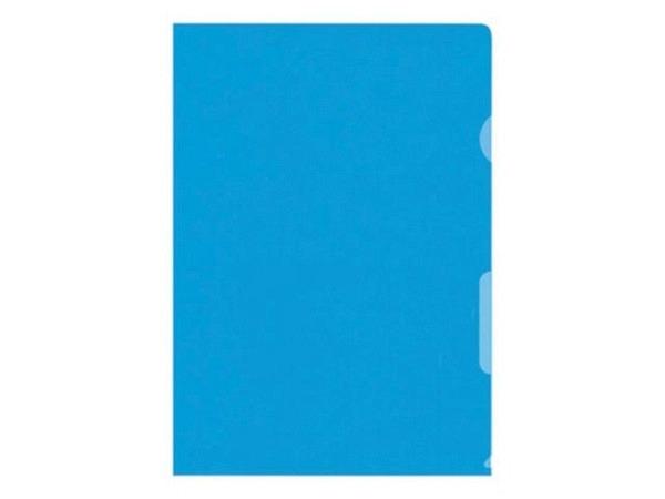 Sichtmappen BüroLine klar blau dünn 100Stk.