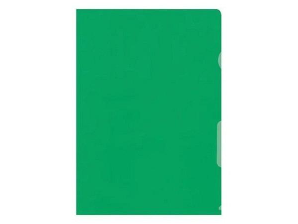 Sichtmappen BüroLine klar grün dünn 100Stk.