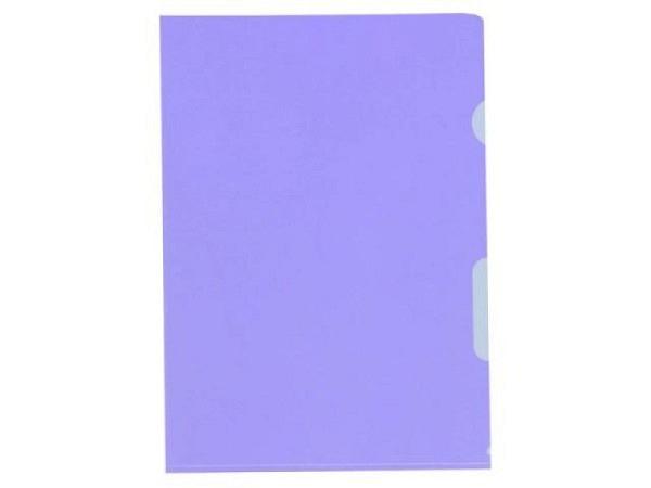 Sichtmappen BüroLine klar violett dünn 100Stk. 620078