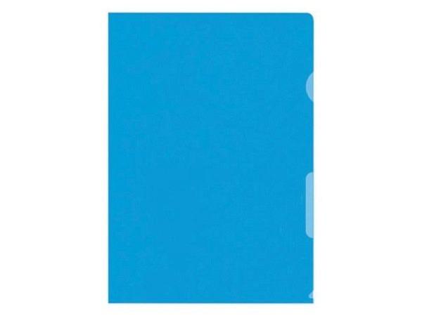 Sichtmappen BüroLine matt blau dünn 100Stk.