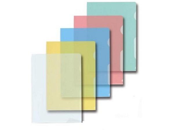 Sichthülle Kolma A4 transparent farbig assortiert