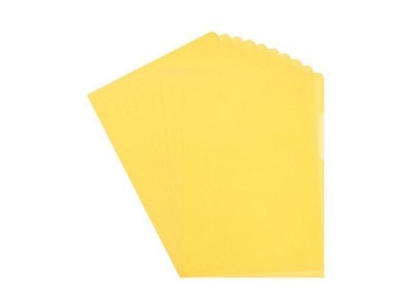 Sichtmappen Biella Everyday A4 genarbt gelb 100Stk.