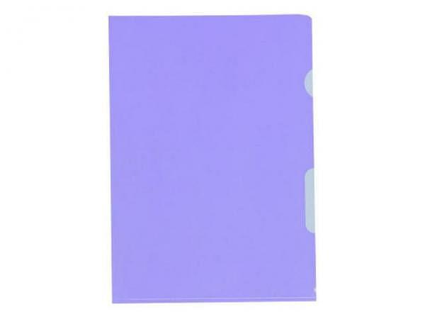 Sichtmappen BüroLine klar violett dünn 10Stk.