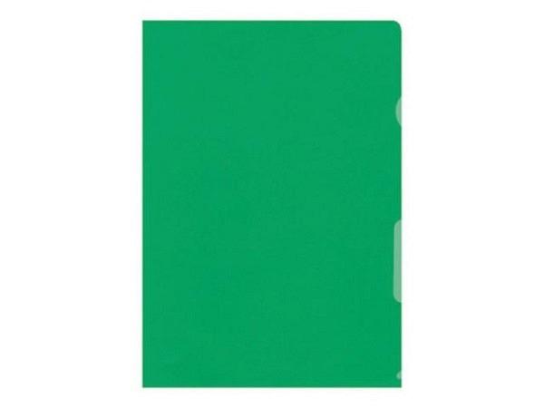 Sichtmappen BüroLine matt grün dünn 100Stk.