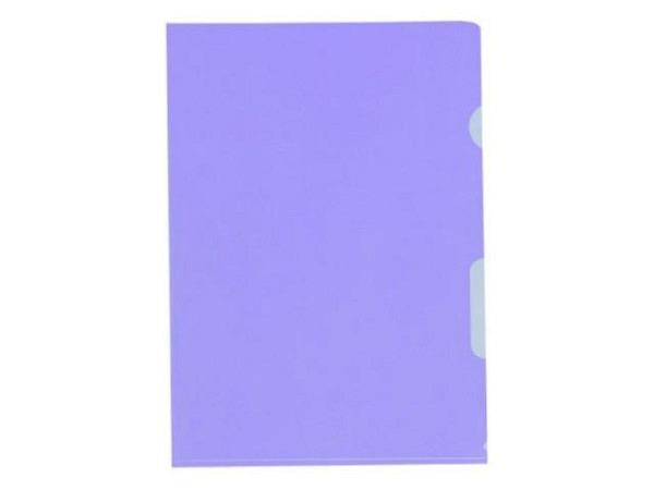 Sichtmappen BüroLine matt violett 0,12my PP 10Stk.