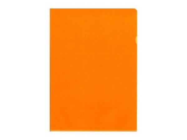 Sichtmappen BüroLine matt orange dünn 100Stk.