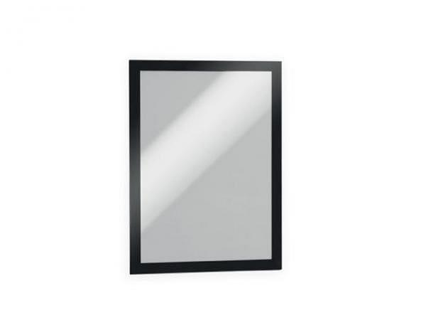 Sichthülle Durable Megaframe schwarz A4, Selbstklebend