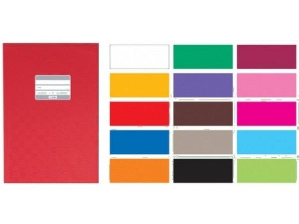Hefthülle Herma A4 rot, ideal für A4 Schulhefte