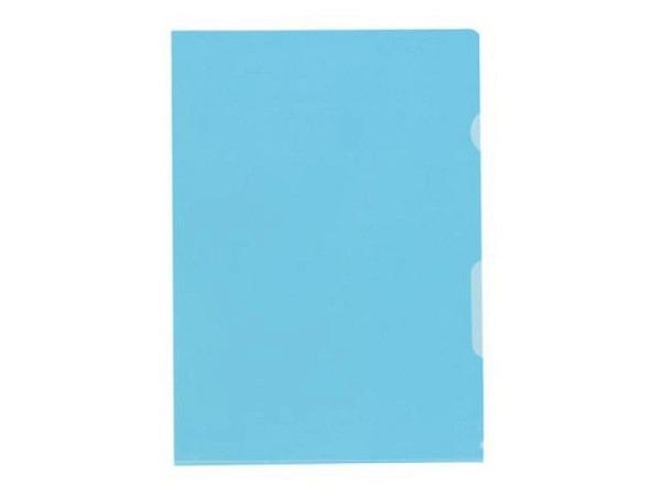 Sichtmappen Kolma Visa Dossier hochtransparent A4 blau 100Stk.