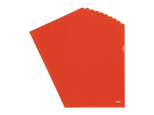 Sichtmappen Biella Everyday A4 genarbt rot 100Stk.