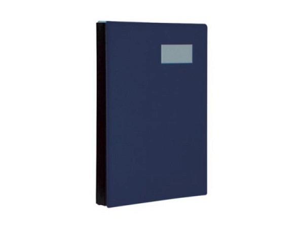 Unterschriftenmappe Biella Pronto A4 20tlg. dunkelblau