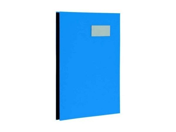 Unterschriftenmappe Biella Papierdeckel A4 10tlg. blau