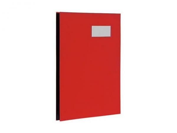 Unterschriftenmappe Biella Papierdeckel A4 10tlg. rot